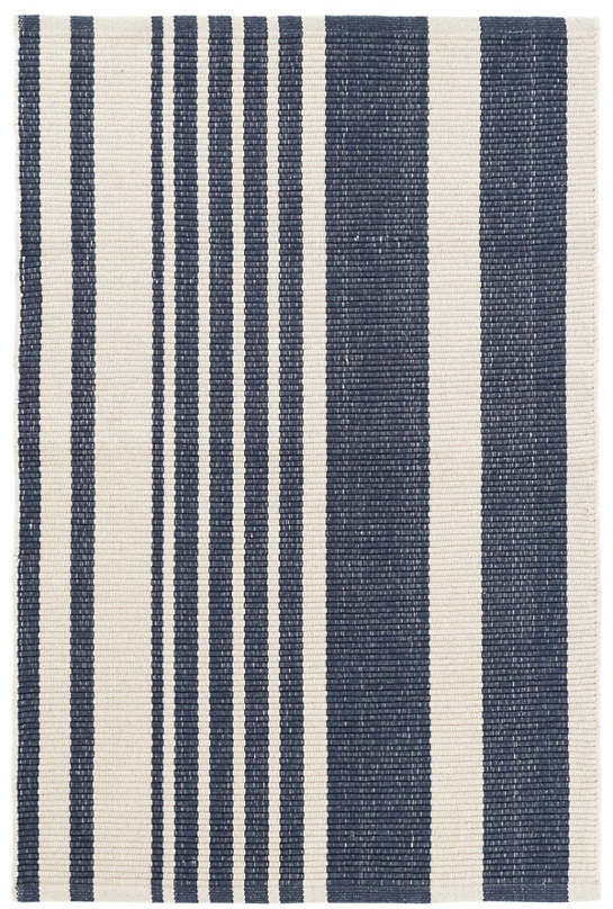 Portland Stripe Woven Cotton Rug