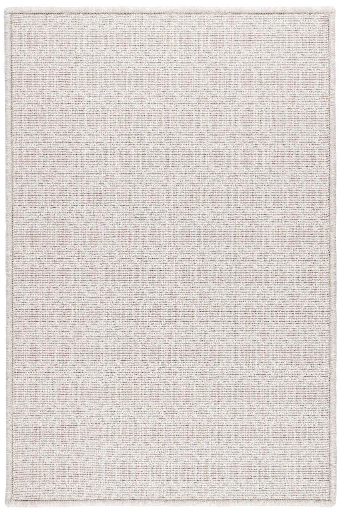 Optic Platinum Woven Wool Custom Rug