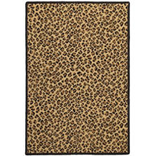 Panthera Brown Woven Wool Custom Rug