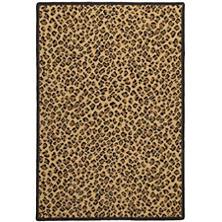 Panthera Brown Woven Wool Custom Rug