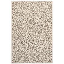 Panthera Neutral Woven Wool Custom Rug