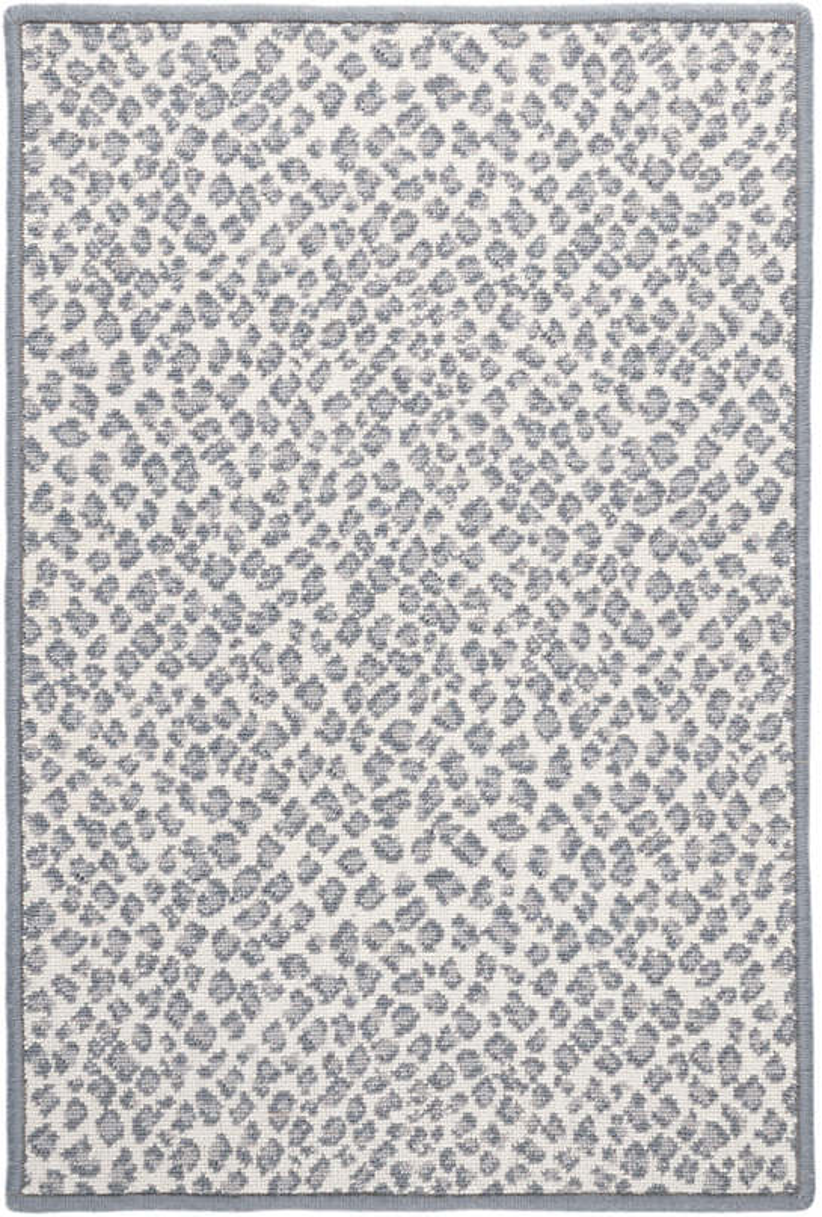 Panthera Slate Woven Wool Custom Rug