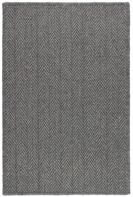 Piper Shale Woven Wool Custom Rug With Attached Rug Pad