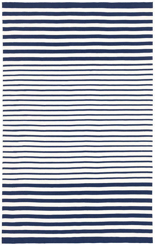 Port Stripe Navy Indoor/Outdoor Rug