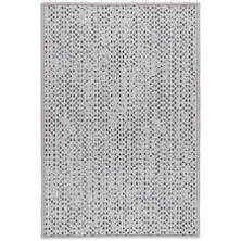 Shuttle Platinum/Shale Woven Wool Custom Rug With Attached Rug Pad