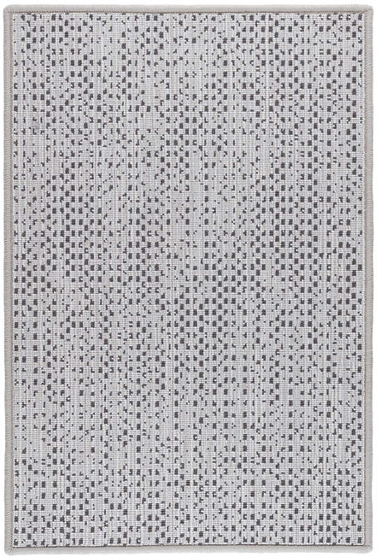 Shuttle Platinum/Shale Woven Wool Custom Rug