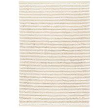 Shear Stripe Ivory Woven Rug