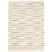Solana Navy Woven Cotton Rug