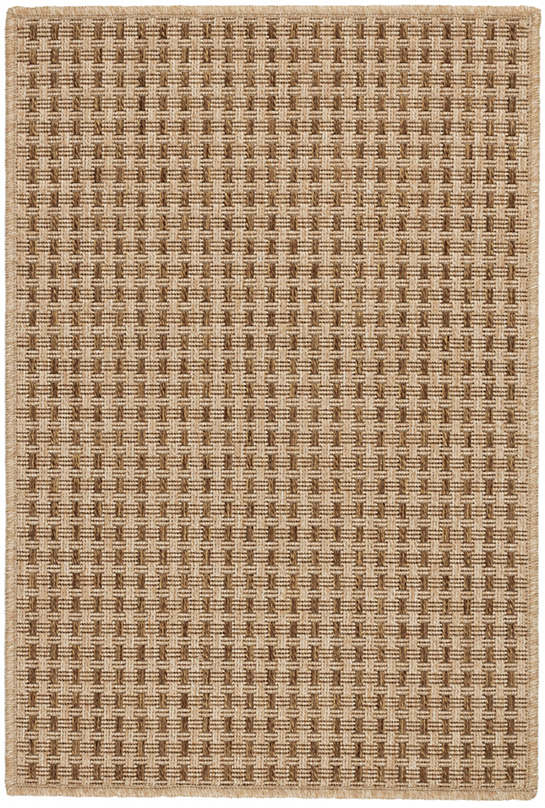 Sycamore Bark Indoor/Outdoor Custom Rug with Attached Rug Pad