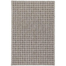 Sycamore Greige Indoor/Outdoor Custom Rug with Attached Rug Pad