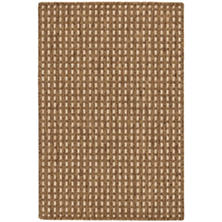 Sycamore Sand Indoor/Outdoor Custom Rug with Attached Rug Pad