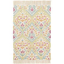 Tahlia Kilim Woven Cotton Rug