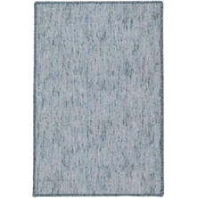Willow Juniper Woven Custom Rug With Attached Rug Pad
