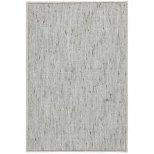 Willow Ocean Woven Custom Rug With Attached Rug Pad