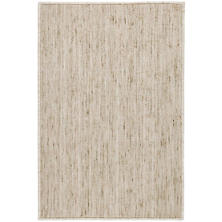 Willow Sand Woven Custom Rug With Attached Rug Pad
