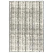 Raffa Grey Woven Wool Rug