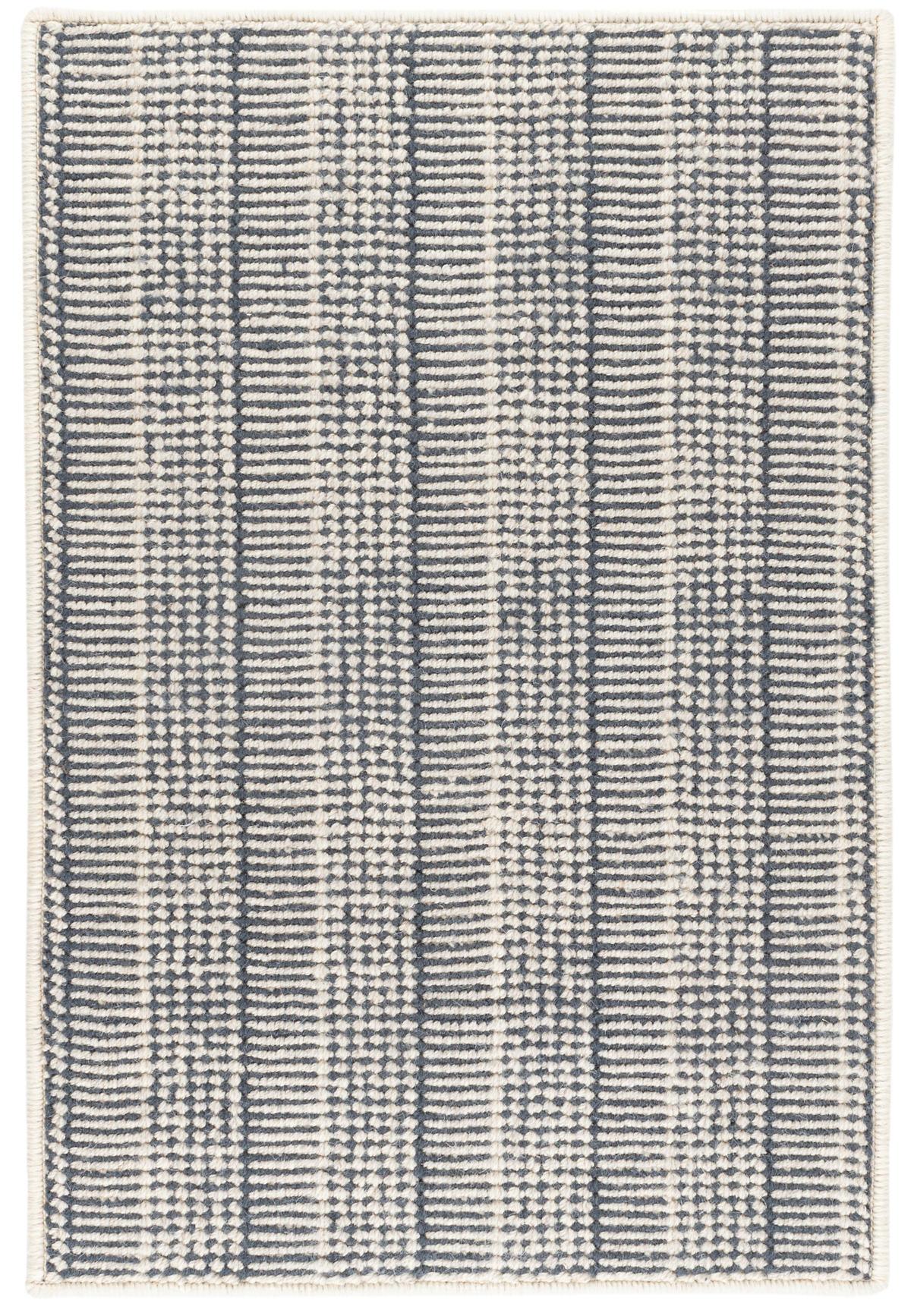 Raffa Navy Woven Wool Rug
