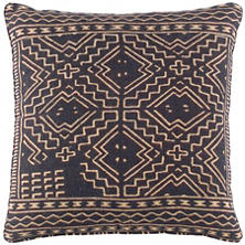 Raffia Linen Decorative Pillow
