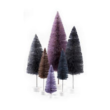 Purple Rainbow Trees/Set Of 6