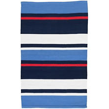 Regatta Stripe Indoor/Outdoor Rug