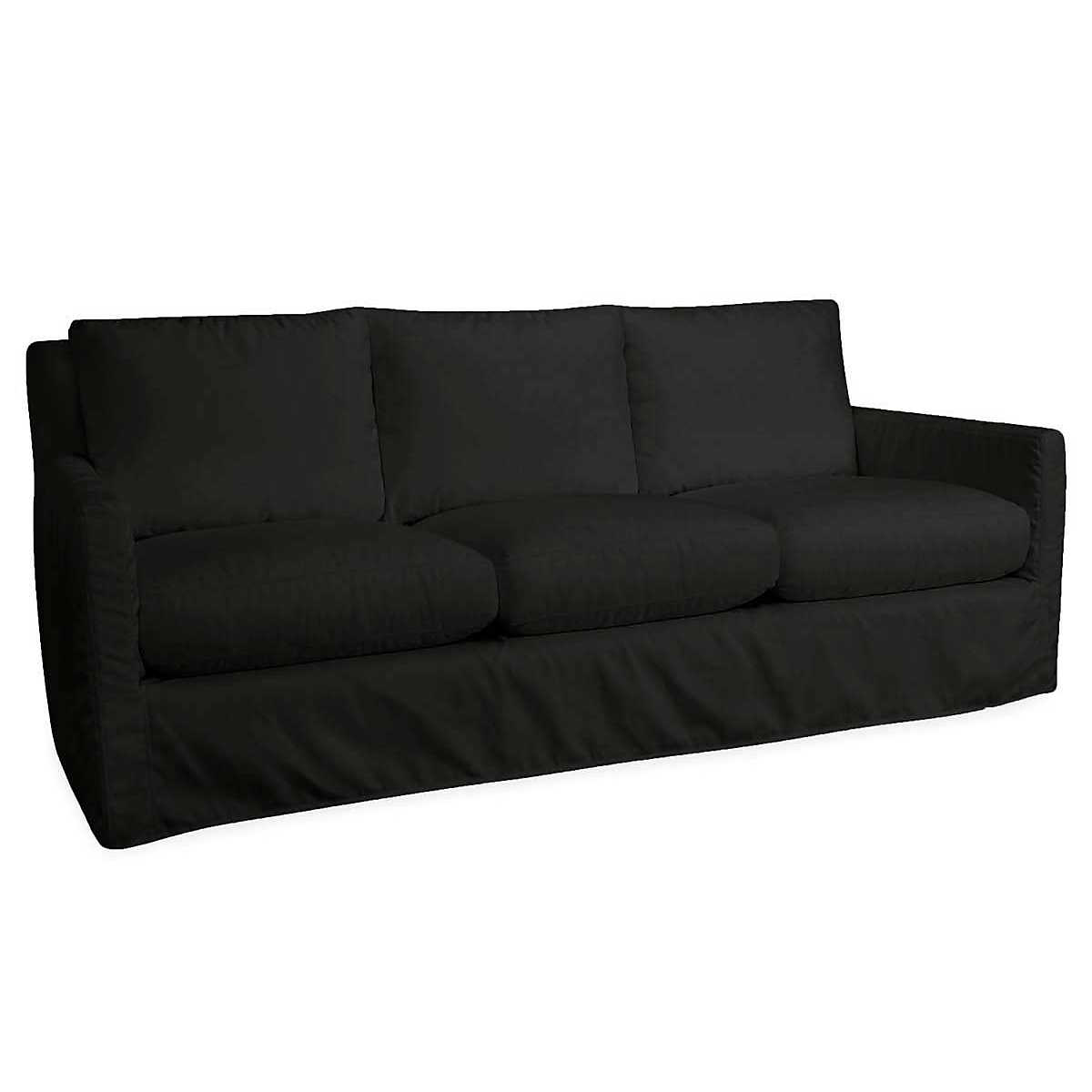 Relax To The Max 3 Seat Outdoor Sofa Black Heathered