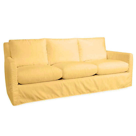 Relax To The Max 3 Seat Outdoor Sofa Daffodil Canvas