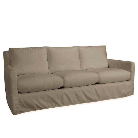 Relax to the Max 3 Seat Outdoor Sofa Platinum Heathered