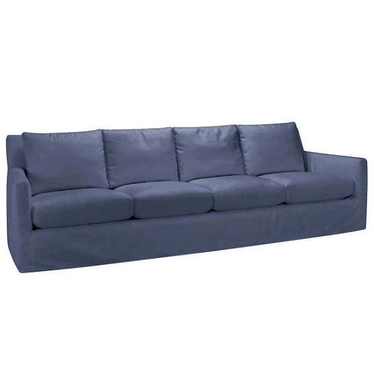 Relax to the Max 4 Seat Outdoor Sofa Denim Heathered