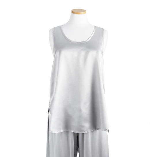 Relaxed Dark Silver Cami