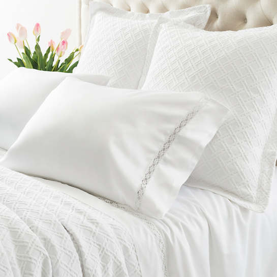 Reticolo White Flat Sheet
