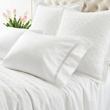 Reticolo White Pillowcases