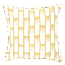 Retro Yellow Decorative Pillow