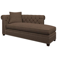 Greylock Brown Richmond Right Facing Chaise