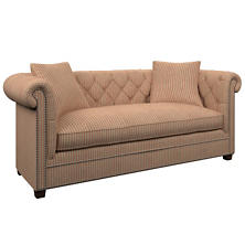 Adams Ticking Brick Richmond Sofa