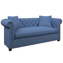 Estate Linen French Blue Richmond Sofa