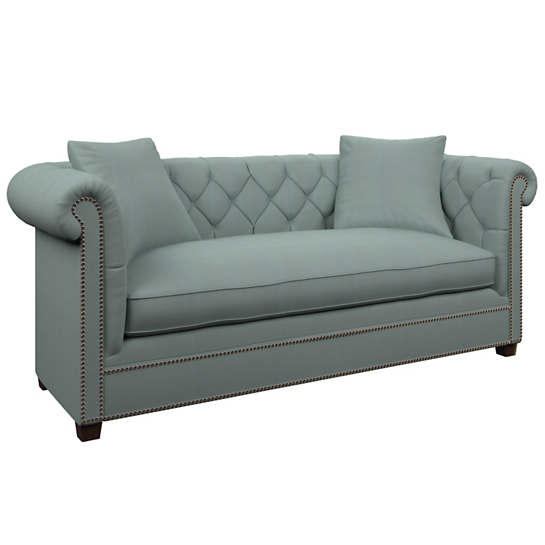 Estate Linen Sky Richmond Sofa