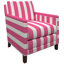 Alex Fuchsia Ridgefield Chair