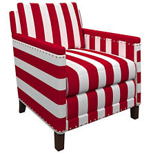 Alex Red Ridgefield Chair