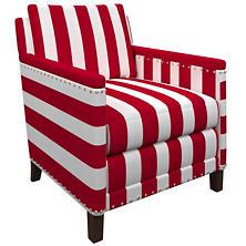 Alex Red Ridgefield Chair