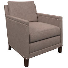 Canvasuede Heather Ridgefield Chair
