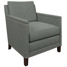 Canvasuede Ocean Ridgefield Chair