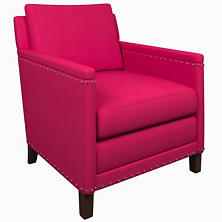 Estate Linen Fuchsia Ridgefield Chair