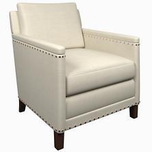 Estate Linen Pearl Grey Ridgefield Chair