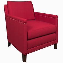 Estate Linen Red Ridgefield Chair
