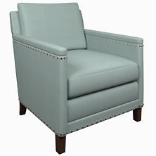 Estate Linen Sky Ridgefield Chair