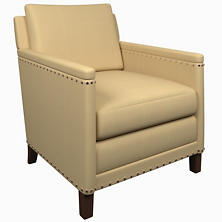 Estate Linen Wheat Ridgefield Chair