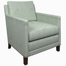 Greylock Light Blue Ridgefield Chair