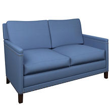 Estate Linen French Blue Ridgefield Loveseat