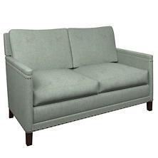 Greylock Light Blue Ridgefield Loveseat