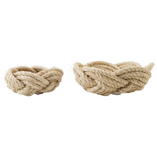 Rope Bowls/Set Of 2